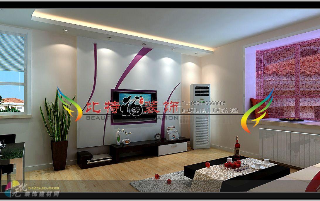 样板间,三居,5 10万 案例展示 济南比特福装饰工程有限公司 高清图片